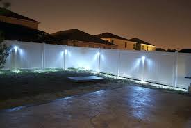 Outdoor Fence Lighting Outdoor Lighting Design Ideas Led Outdoor