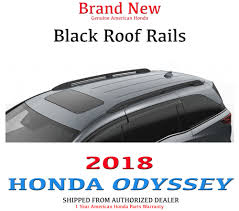 2010 Honda Odyssey Cross Bars by Genuine Oem Honda Odyssey Black Roof Rails 2018 08l02 Thr 100 Ebay