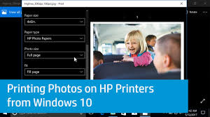 hp printers how to print photos windows hp customer support