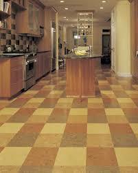 flooring ideas awesome kitchen cork tile flooring installation in