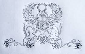 sacred scarab goddess design tania s
