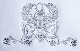 sacred scarab goddess tattoo design tania marie u0027s blog