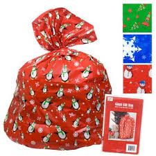big gift bags 2 christmas gift bag 36x44 w tie gift card