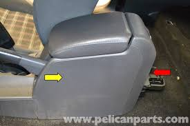 volkswagen golf gti mk v rear center console removal 2006 2009