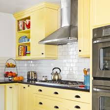 Backsplash For Yellow Kitchen A Kitchen Redo With Added Function And Lots More Charm Yellow