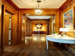 Table For Hallway Entrance by Home Ideas Large Entrance Hall With Wooden Hallway Decoration