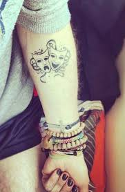 51 best drama tattoo designs for women images on pinterest drama