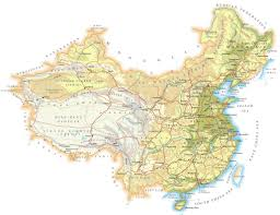 Rivers In China Map Physical Map Of China 2010 2011 Printable Relief Maps