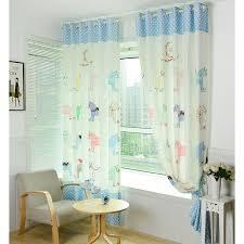 Polka Dot Curtains Nursery Polka Dot And Animal Patterns Polyester Privacy Nursery Curtain