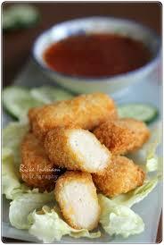 membuat nugget ayam pakai tepung terigu bismillah sudah lama sekali ingin posting resep chicken nugget yang