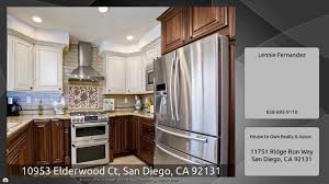 Kitchen Cabinets San Diego Ca 10953 Elderwood Ct San Diego Ca 92131 Youtube