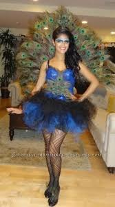 Halloween Peacock Costume Linda U0027s Awesome Homemade Halloween Peacock Costume Homemade