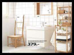 chaise salle de bain meuble salle de bain ikea hemnes