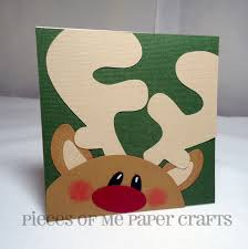 make a christmas card pieces of me scrapbooking paper crafts winter faces christmas cards
