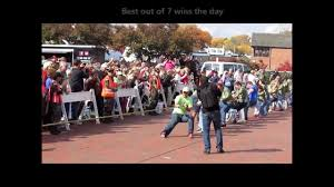 annapolis eastport annual tug of war maryland youtube