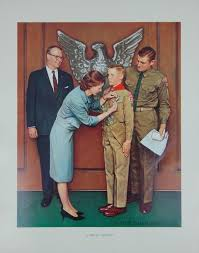 set of five prints after norman rockwell for sale at 1stdibs