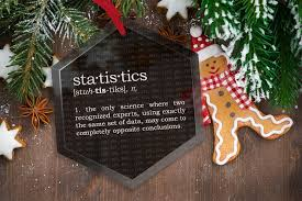 statistics definition glass tree ornament