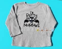 halloween toddler shirt batty for my mommies gray long sleeve halloween toddler shirt top