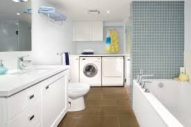 laundry in bathroom ideas small bathroom laundry room combo modern ideas for small bathroom