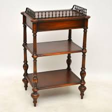 leather top side table antique victorian style mahogany leather buffet marylebone