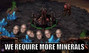 Starcraft 2 Meme - hank requires more minerals starcraft know your meme