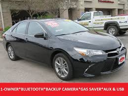 toyota camry 2016 used toyota camry se fwd 17