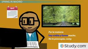 using spanish indefinite articles practice activity video
