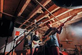 girlpool played a killer basement show in west philly the key