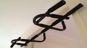 wall mounted chinning bar doorway pull up bar review for under 30 youtube