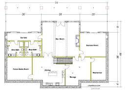 basement floor plans best side split level floor plans home