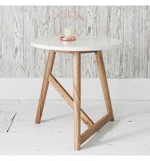 cheap white side table round side table white