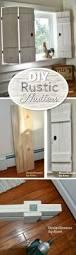 Wooden Window Shutters Interior Diy How To Make Wooden Shutters In Six Steps Indoor Shutters
