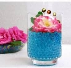 Water Bead Centerpieces by Anyone Used Water Beads In The Centerpieces To Make Flowers Or