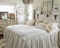 Shabby Chic White Bed Frame by Shabby Chic Etsy