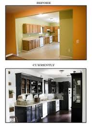 what are builder grade cabinets made of amazing update to basic builders grade kitchen the lettered