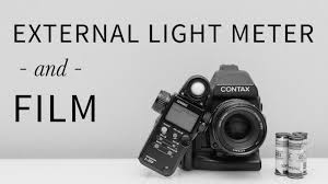 film camera light meter how to use an external light meter with film youtube