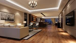 i like this reception area well designed lighting creates a modern office lobby interior design tree photo tv mounted screen right neutral wood furniture
