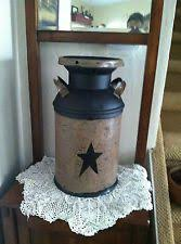 Old Milk Can Decorating Ideas Refurbished Milk Can With Chalk Paint My Projects Pinterest