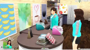the sims 4 cool kitchen stuff part 2 ice cream makers in action
