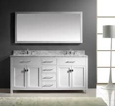 bathroom luxry white double sink bathroom vanity with mirrors