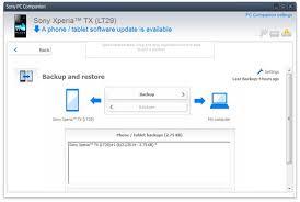 backup and restore apk xperia sony xperia backup backup data from sony