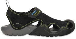 chaussure crocs cuisine avoir les crocs crocs swiftwater flip sandales marron chaussures