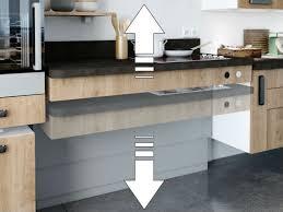 taille plan de travail cuisine hauteur plan de travail cuisine standard hauteur standard plan de