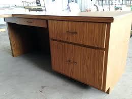 Office Desk Wooden Oak Home Office Desk Atken Me