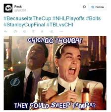 Meme Stanley - the best twitter instagram memes from lightning blackhawks series