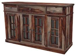 rustic buffet table reclaimed wood dining set china hutch ikea