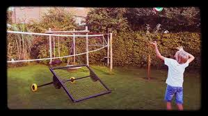 Backyard Volleyball Nets Backyard Volleyball Rebounder Drill Watch Or Download Downvids Net