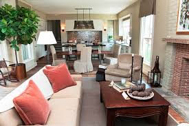 living room and dining room combined home design and decor
