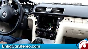 radio installation volkswagen passat 2012 2013 youtube