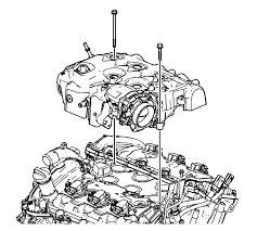 repair instructions off vehicle intake manifold installation